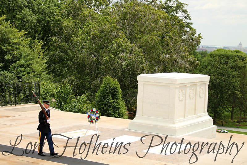 Tomb of the Unknown Soldiers, Arlington National Cemetary