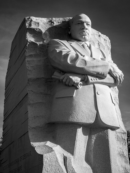 Statue of Dr. Martin Luther King