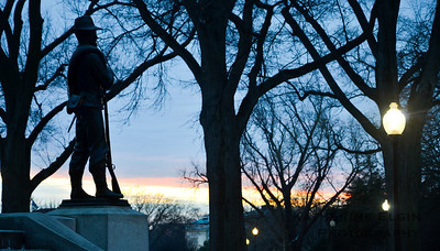 General William Tecumseh Sherman Monument - Jan. 26, 2014