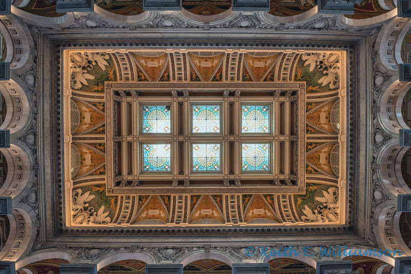 Central Ceiling, Library of Congress