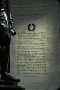 The Thomas Jefferson Memorial is astounding. - April 2013