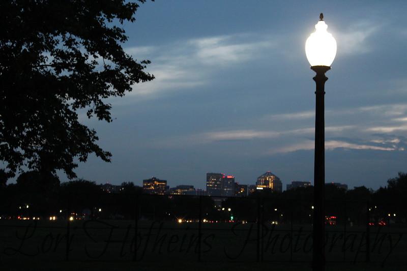 Washington, D.C. skyline at night