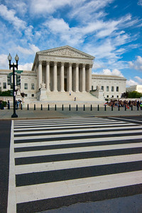 National Courthouse The Supreme Court is one of those structures that looks official. Even if you don't know who offices there, you know something important must be going on.