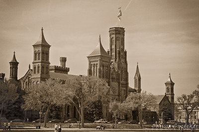 Smithsonian Castle - Vintage