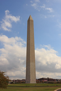 Washington Monument on the National Mall - October 2012