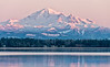 Mount Baker, at sunset, late fall