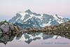 Mount Shuksan, Artist's Point, after sunset