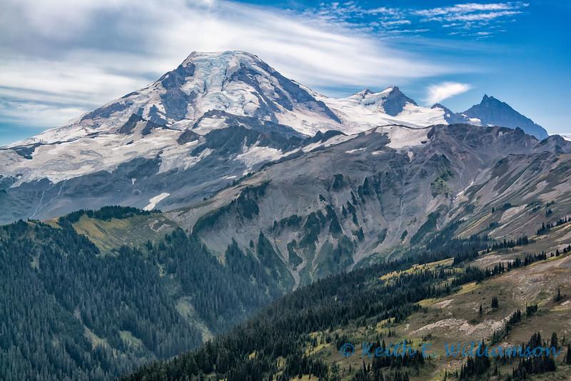 Mount Baker, from Skyline Divide