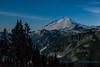 Mount Baker, lit by moonlight, Artist's Point