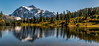 Mount Shuksan, early October (three images)