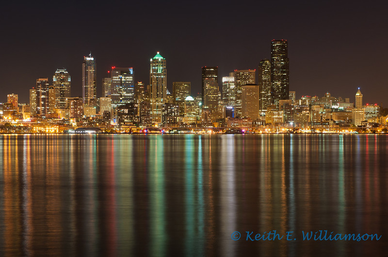 Seattle Skyline, from Alki Point