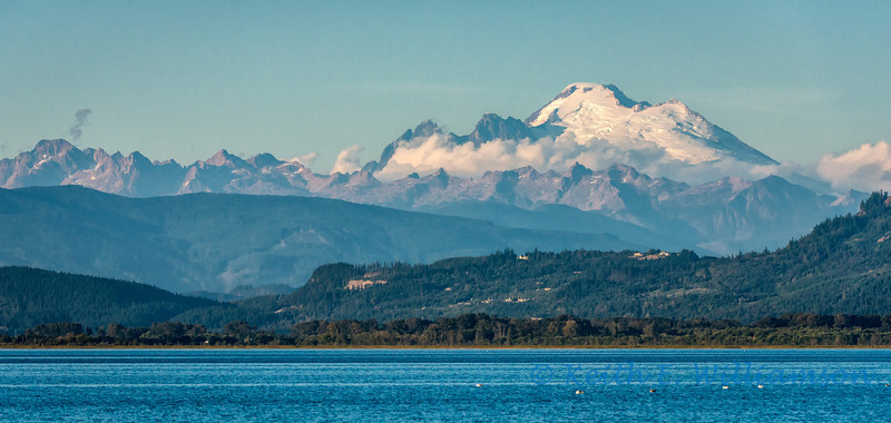 Mount Baker, from English Boom, early September