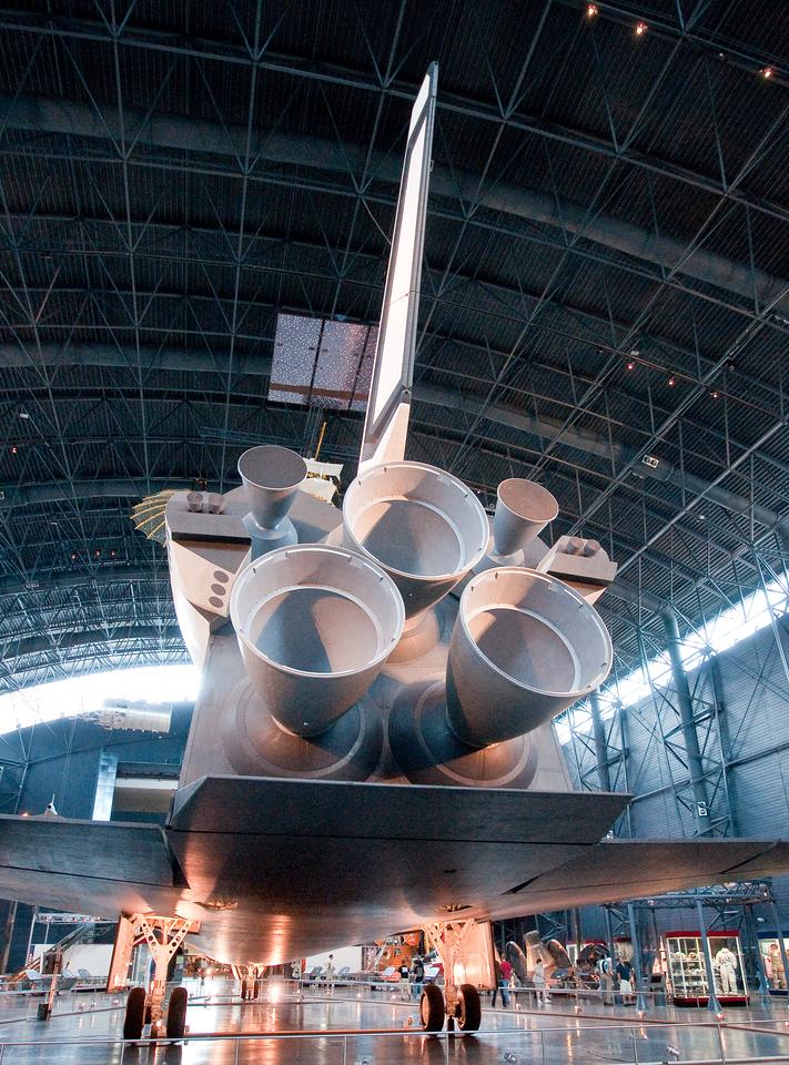 Space shuttle Enterprise at Annex