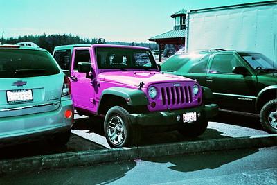Laconner in Lomochrome Purple