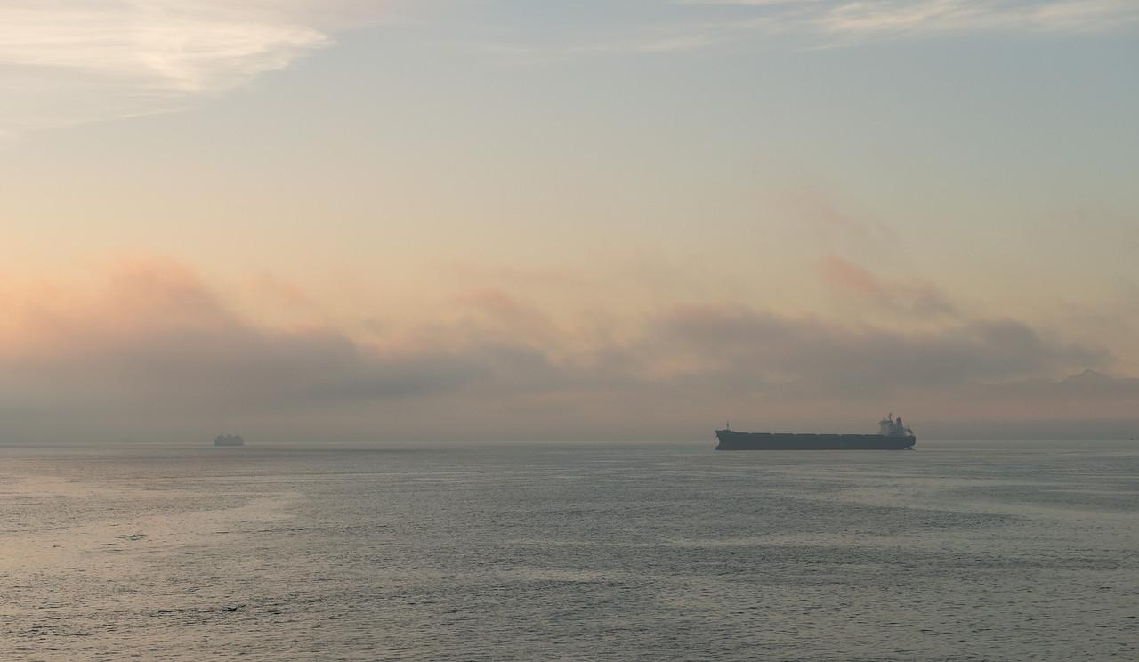 26 December 2013.  Sunset over Puget Sound.