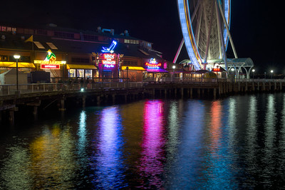 20160920.  The Great Wheel on the downtown waterfront, Seattle WA.