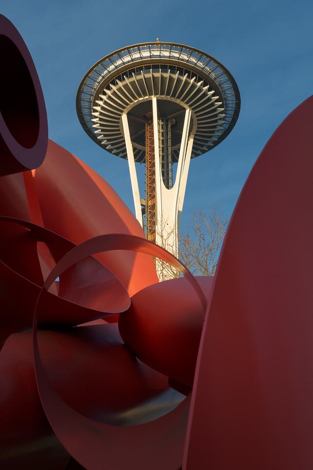 26 December 2013.  Seattle Space Needle.