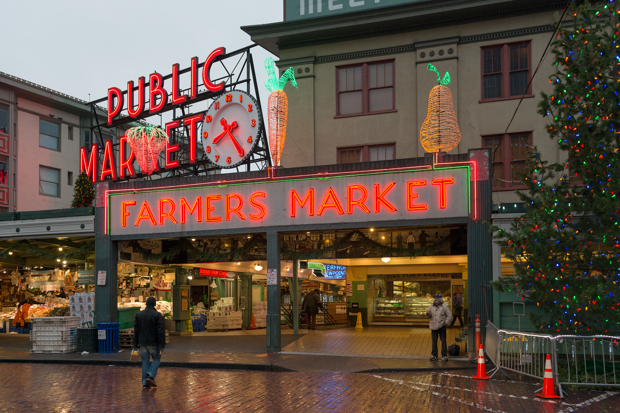 20141223. Pike Place Market, Seattle WA.