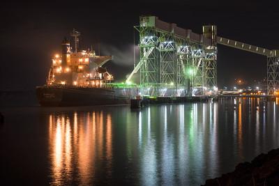 20160924.  Port of Seattle Grain Terminal on Elliott Bay, Seattle WA.