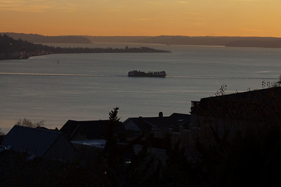 View from Queen Anne Hill, Seattle