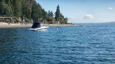 20140816.  Northwest view towards Dolphin Point, Vashon Island, WA.