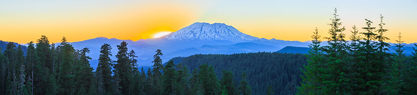 Mount Saint Helens Sunset