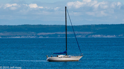 Penn Cove, from Coupeville, Whidbey Island, WA