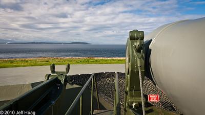 """10"""" Gun, Ft. Casey Historical State Park"""