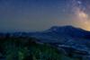 Milky Way at Mount Saint Helens