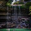 hamilton's pool waterfall