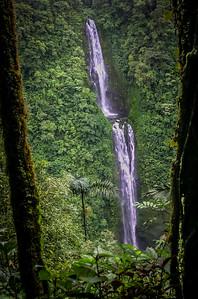 long waterfall