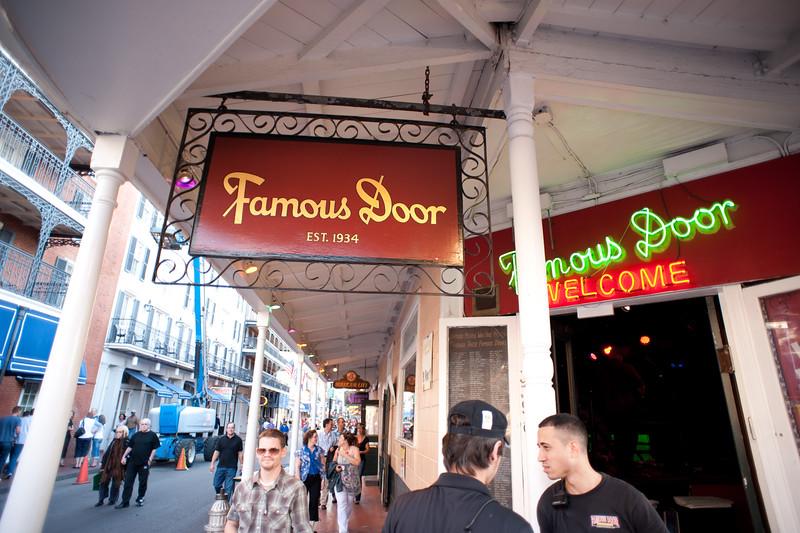 The Famous Door in NOLA