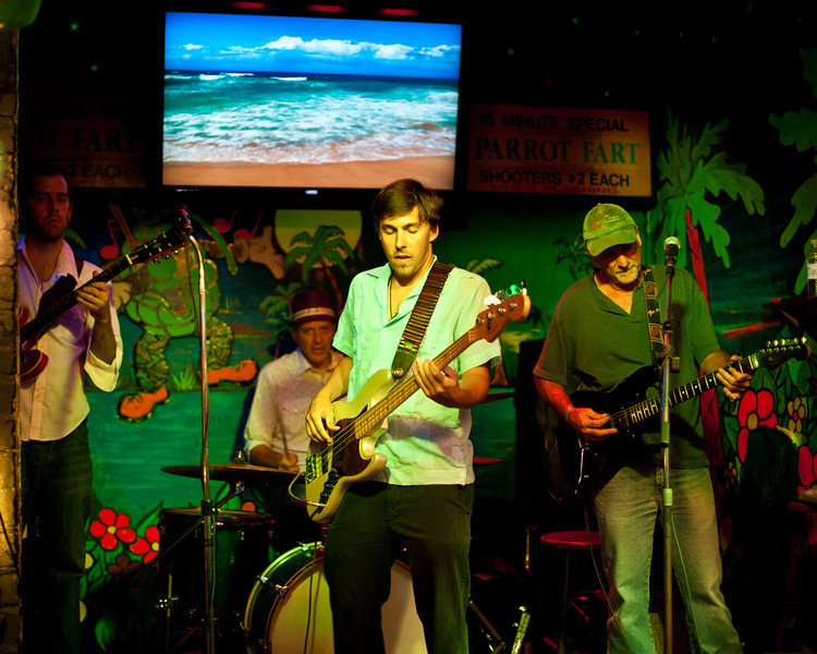 The Dan Louviere Band at the Tropical Isle in the French Quart, NOLA