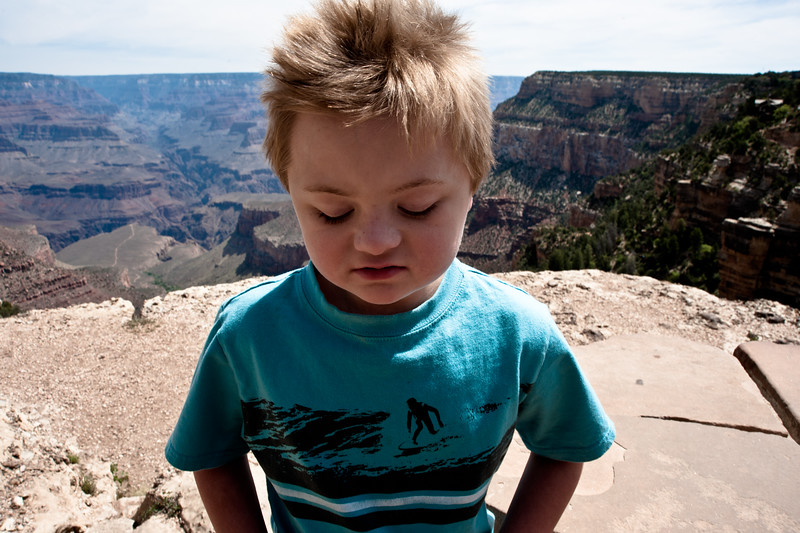 Vincent at the Grand Canyon