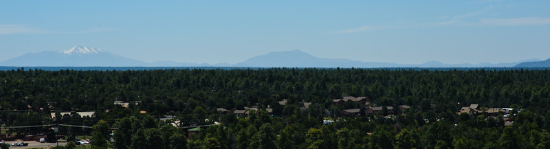 San Francisco Peaks as seen from the Grand Canyon