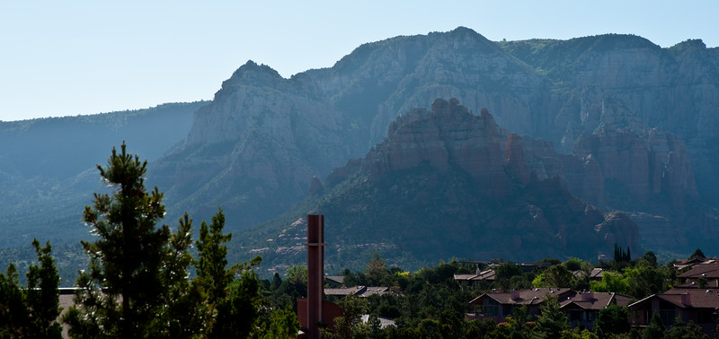 Morning Haze in Sedona