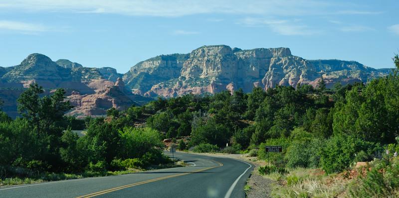 Photos taken while driving around the outskirts of Sedona, AZ.
