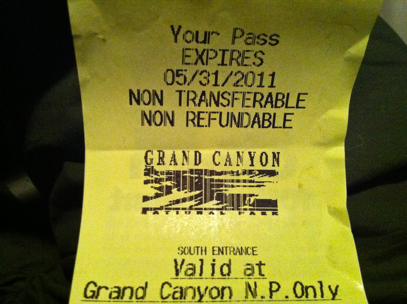 Grand Canyon Pass