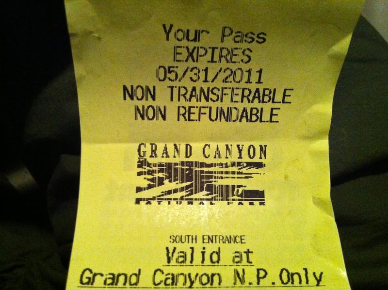 Grand Canyon Pass
