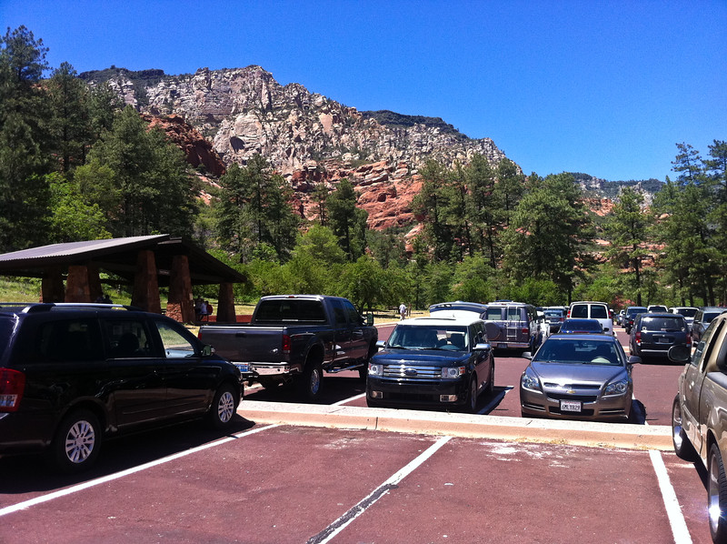 Slide Rock State Park Parking Lot