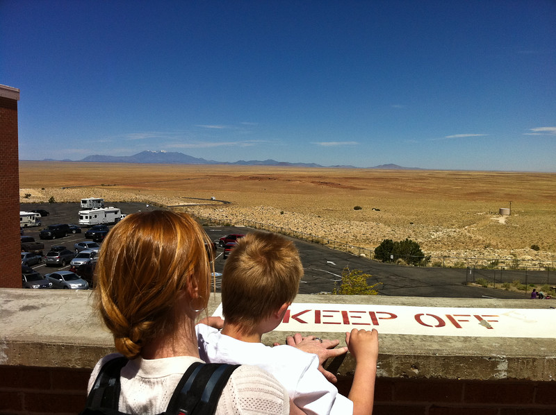 Nice View - Mount Humphries, AZ from the Meteor Crater building