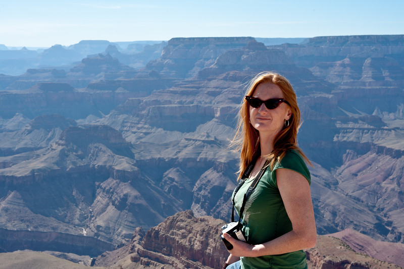Marisa at the Grand Canyon