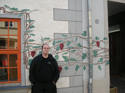 Me and a mural