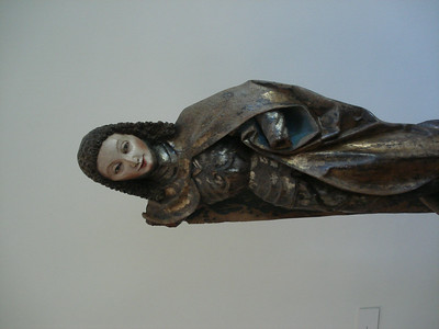 Medieval altar figurine