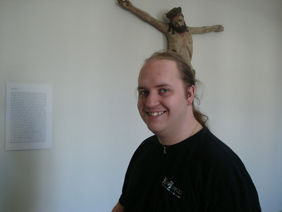 Me. And a crucified christ.