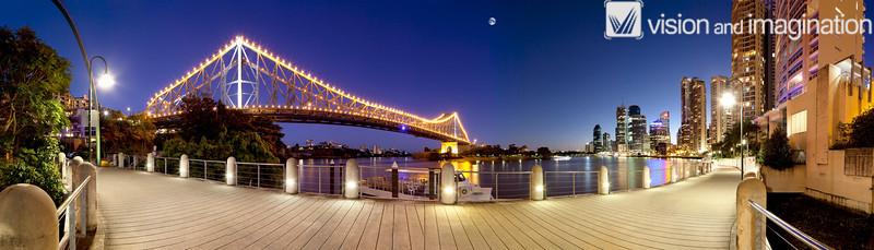Brisbane CBD and Story Bridge