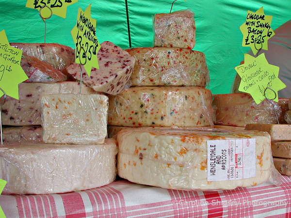 Wells, Cheeses in the Market
