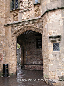 Wells, Penniless Porch from the Market