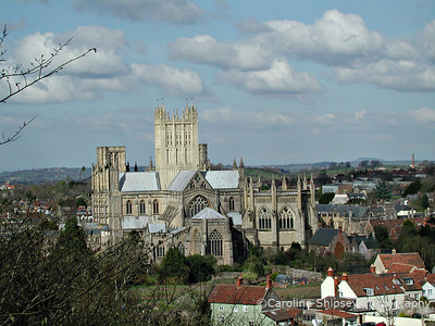 Wells Cathedral from Tor Hill