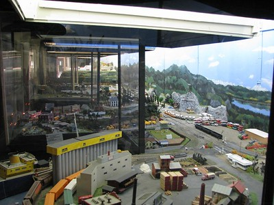 Model railway detail.